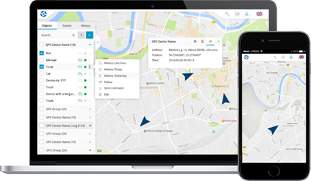 Tera Track - Access anytime, Anywhere and from any device