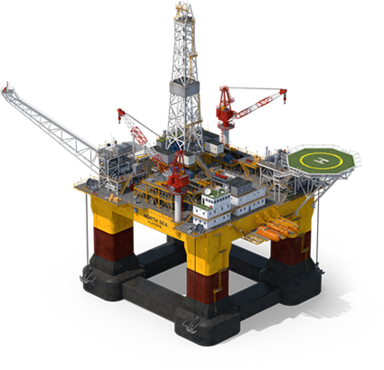 Tera Track - Oil Platform